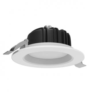 Светильник светодиодный ВАРТОН Downlight круглый встраиваемый 230*84 40W 4000K IP54 RAL7045 серый матовый V1-R0-00084-10000-4404040