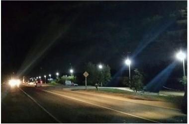 Освещение улиц в Ахтанизовском сельском поселении в Темрюкском районе Краснодарского края