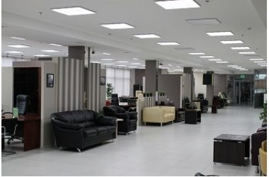 Освещение центра офисной мебели ООО Бумага-С в г.Краснодар