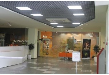 Освещение фитнес-клуба Оранж в г.Краснодар