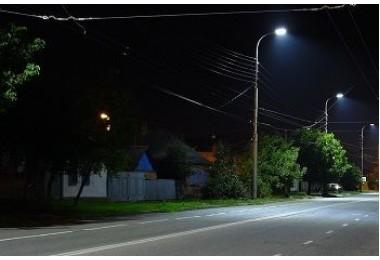 Освещение улиц в г.Майкоп (Республика Адыгея)