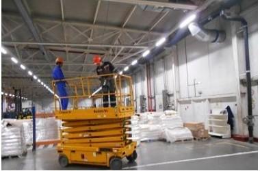 Освещение РЦ компании АО Тандер (МАГНИТ) в г.Стерлитамак