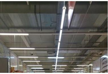 Освещение семейного гипермаркета МАГНИТ в г.Краснодар ул.Держинского фото №2