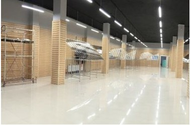 Освещение торгового центра в г.Краснодар по ул.Красных партизан фото №1