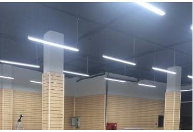 Освещение торгового центра в г.Краснодар по ул.Красных партизан фото №2