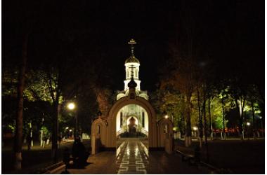 Освещение улиц в ст.Выселки в Краснодарском крае