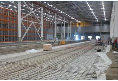 Освещение завода МЕТКОМ по производству арматуры в Краснодарском крае фото №2