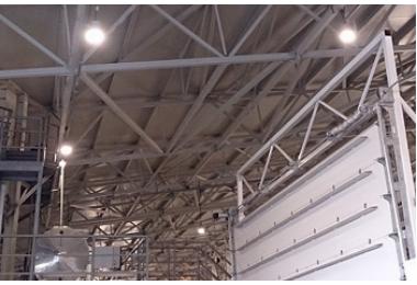 Освещение завода по производству газобетонных блоков в г.Гулькевичи