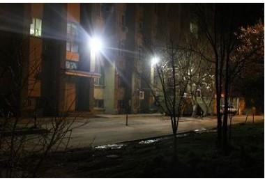 Освещение территорий объектов АО НИПИ ИнжГео в г.Краснодар