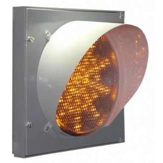 Автономный светодиодный светофор на солнечных батареях
